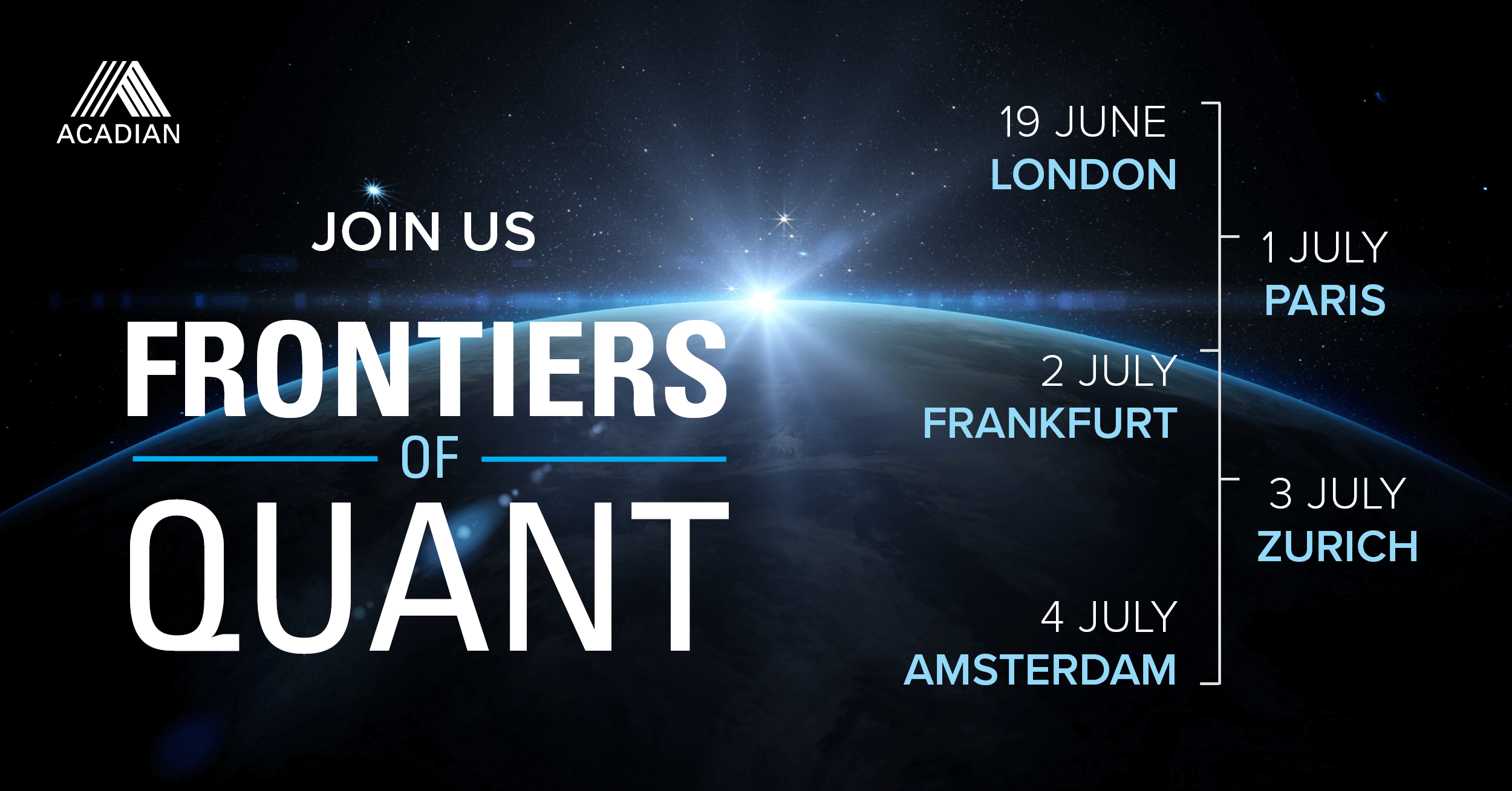 Frontiers of Qaunt Seminar Europe