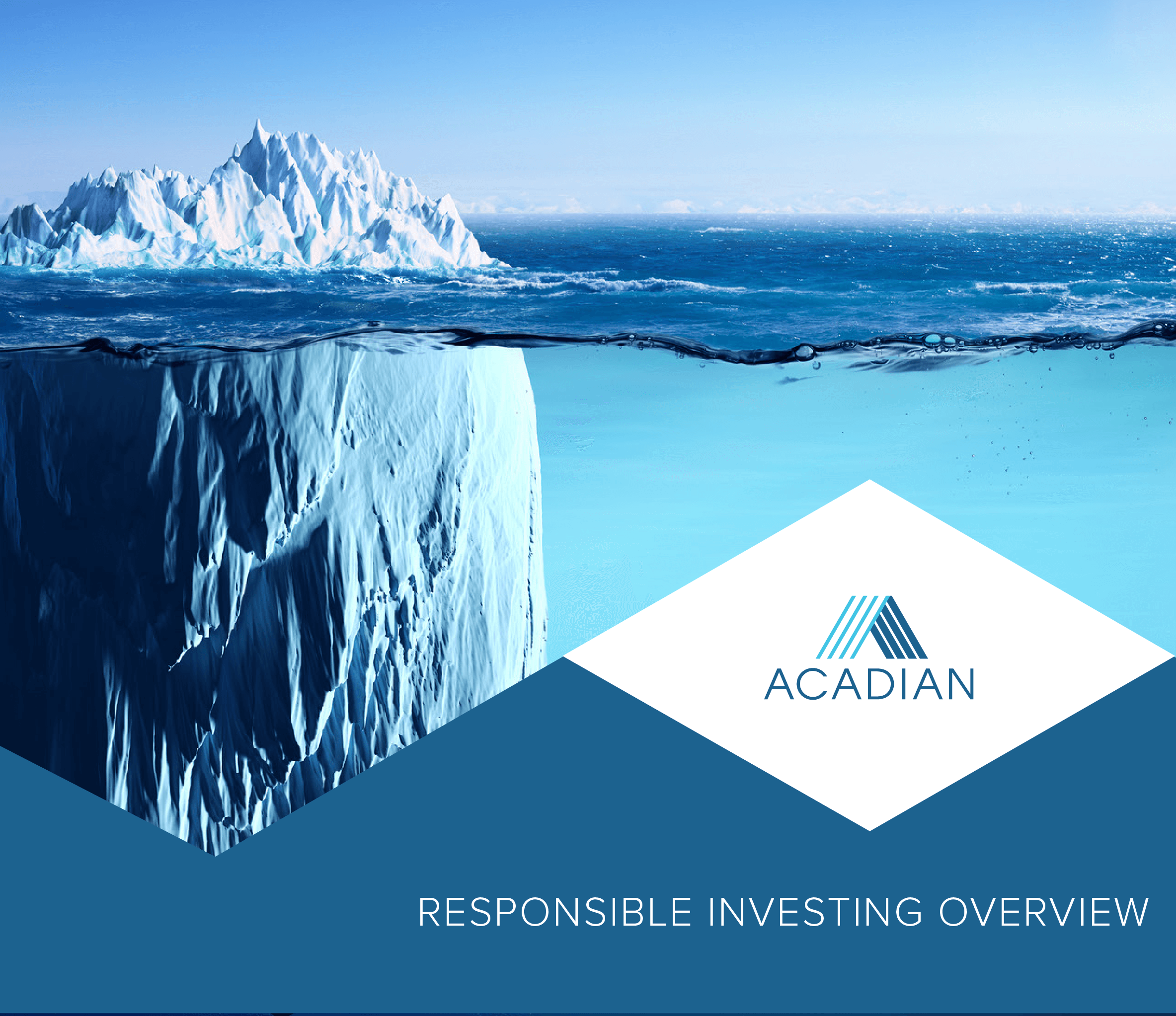 Acadian Responsible Investing ESG