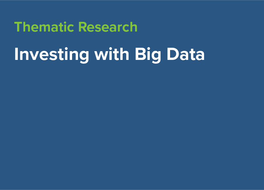 Investing with Big Data