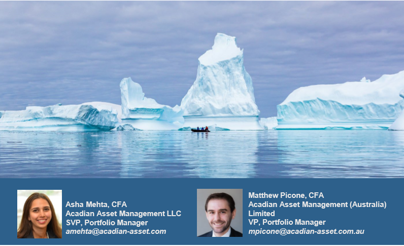 Asha Mehta and Matthew Picone Acadian Asset Management